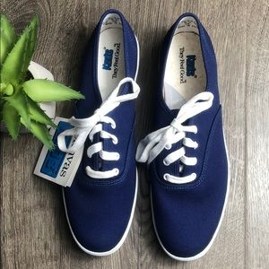 Keds Classic Champion Navy Blue Solids